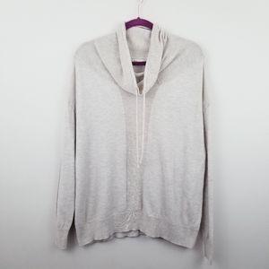 Dakini | Oatmeal Wool Blend Cowl Neck Sweater